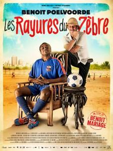 """Affiche du film """"Les Rayures du Zèbre"""""""