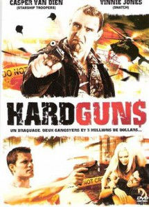 "Affiche du film ""Hard Guns"""
