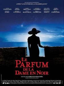 """Affiche du film """"Le Parfum de la Dame en Noir"""""""