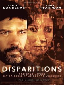 """Affiche du film """"Disparitions"""""""