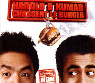 "Affiche du film ""Harold & Kumar chassent le burger"""