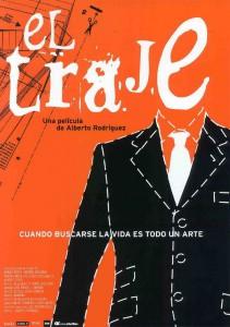 """Affiche du film """"El traje"""""""
