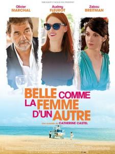 """Affiche du film """"Belle comme la femme d'un autre"""""""