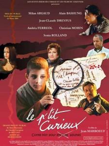 """Affiche du film """"Le p'tit curieux"""""""