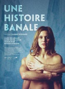 """Affiche du film """"Une histoire banale"""""""