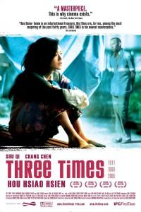 """Affiche du film """"Three Times"""""""