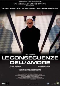 """Affiche du film """"Les Conséquences de l'amour"""""""