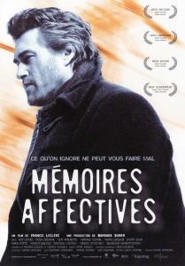 """Affiche du film """"Mémoires affectives"""""""