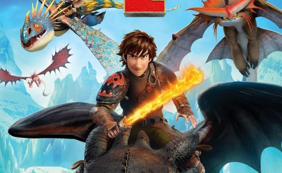 "Affiche du film ""Dragons 2"""