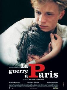 """Affiche du film """"La Guerre à Paris"""""""