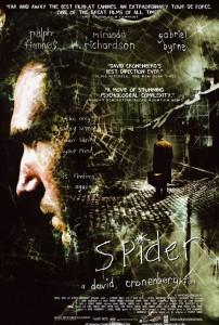 """Affiche du film """"Spider"""""""