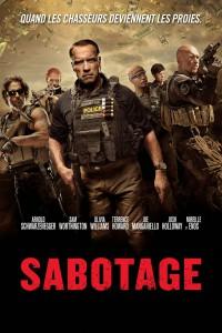 """Affiche du film """"Sabotage"""""""