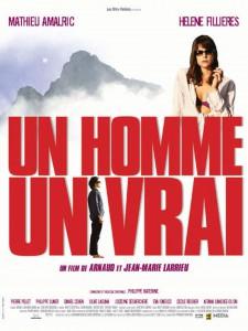 """Affiche du film """"Un homme, un vrai"""""""