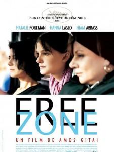 """Affiche du film """"Free Zone"""""""