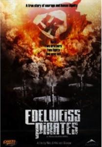 """Affiche du film """"Les Pirates de l'Edelweiss"""""""