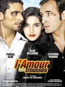 """Affiche du film """"L'amour aux trousses"""""""