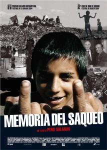 """Affiche du film """"Mémoire d'un saccage - Argentine, le hold up du siècle"""""""