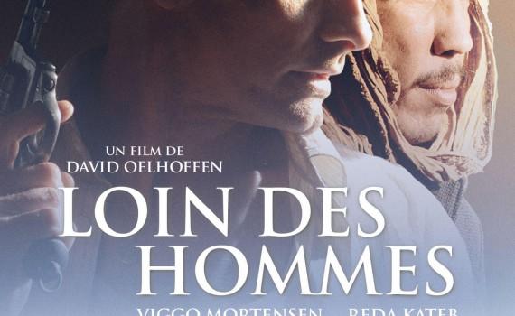 """Affiche du film """"Loin des hommes"""""""