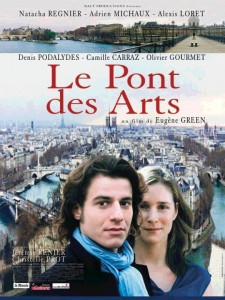 """Affiche du film """"Le pont des Arts"""""""