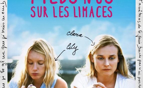 """Affiche du film """"Pieds nus sur les limaces"""""""