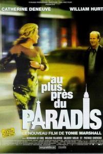 """Affiche du film """"Au plus près du paradis"""""""