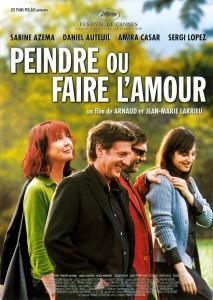 """Affiche du film """"Peindre ou faire l'amour"""""""