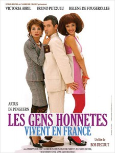 "Affiche du film ""Les gens honnêtes vivent en France"""