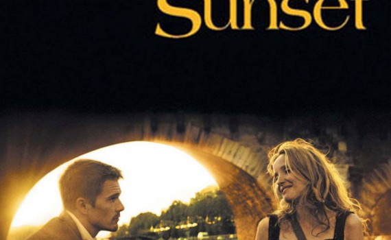 "Affiche du film ""Before Sunset"""