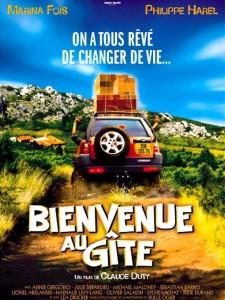"Affiche du film ""Bienvenue au gîte"""