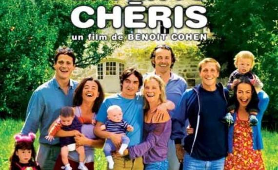 """Affiche du film """"Nos Enfants chéris"""""""