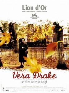 """Affiche du film """"Vera Drake"""""""