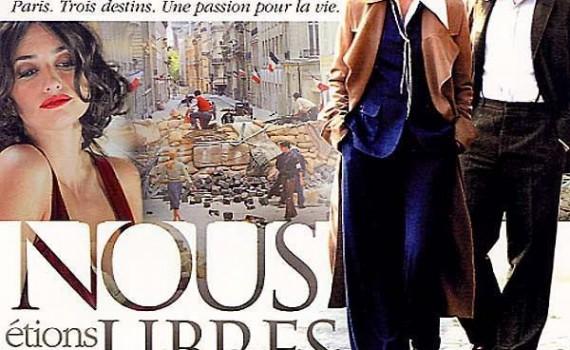 """Affiche du film """"Nous étions libres"""""""