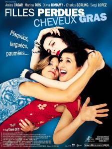 """Affiche du film """"Filles perdues, cheveux gras"""""""