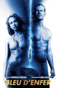 """Affiche du film """"Bleu d'enfer"""""""