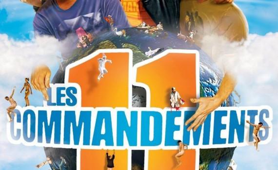 """Affiche du film """"Les 11 Commandements"""""""