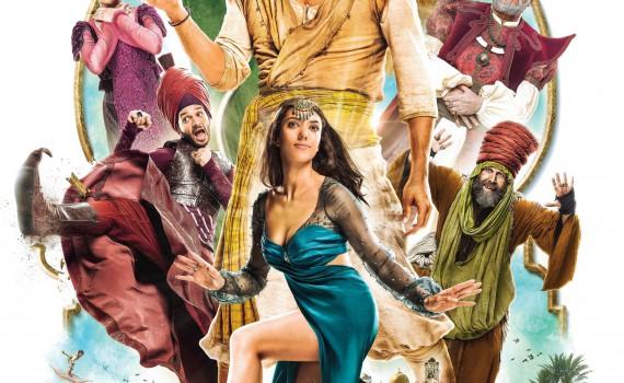 """Affiche du film """"Les Nouvelles aventures d'Aladin"""""""