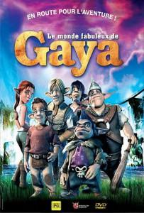 """Affiche du film """"Le Monde fabuleux de Gaya"""""""