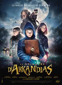 """Affiche du film """"Le Grimoire d'Arkandias"""""""