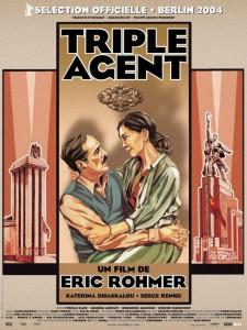 """Affiche du film """"Triple Agent"""""""