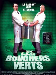 """Affiche du film """"Les bouchers verts"""""""