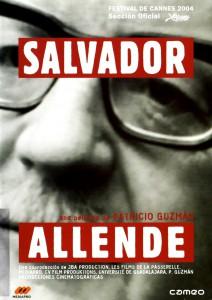 """Affiche du film """"Salvador Allende"""""""