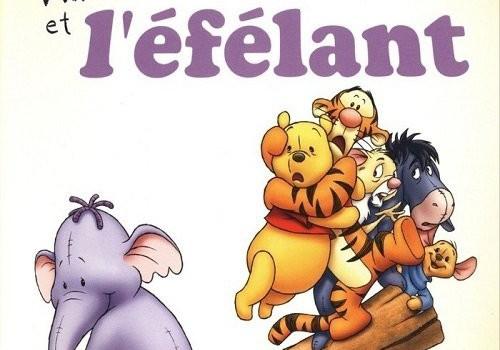 """Affiche du film """"Winnie l'ourson et l'éfélant"""""""