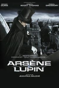 "Affiche du film ""Arsène Lupin"""
