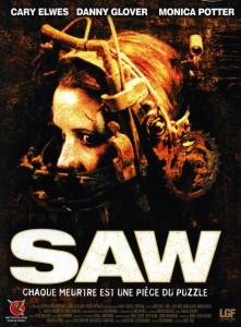 """Affiche du film """"Saw"""""""