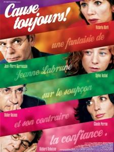 """Affiche du film """"Cause toujours !"""""""
