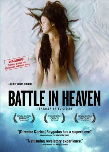 "Affiche du film ""Batalla en el cielo"""