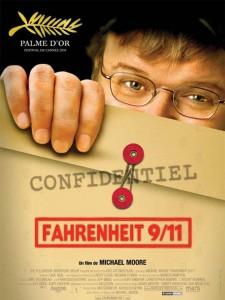 """Affiche du film """"Fahrenheit 9/11"""""""
