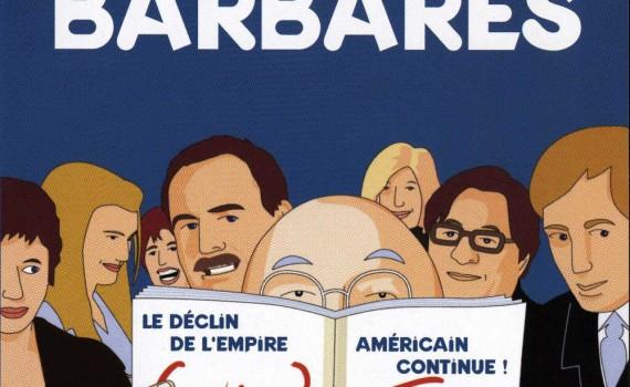 "Affiche du film ""Les invasions barbares"""