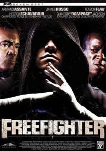 """Affiche du film """"Freefighter"""""""