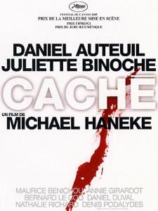 """Affiche du film """"Caché"""""""